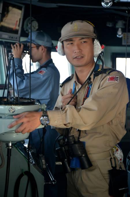 自衛隊 24次ソマリア等 海賊対処活動 水上部隊のレポート15no03