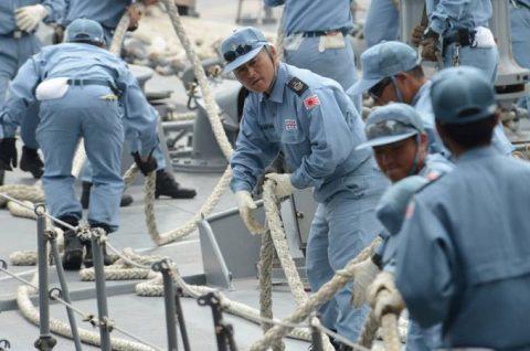 海上自衛隊 ジプチ ソマリア 海賊対処 水上部隊(24次)11ゆうぎりno1