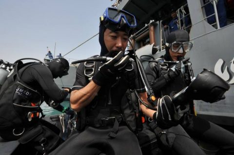 海上自衛隊 ジプチ ソマリア 海賊対処 水上部隊(24次)11ゆうぎりno4