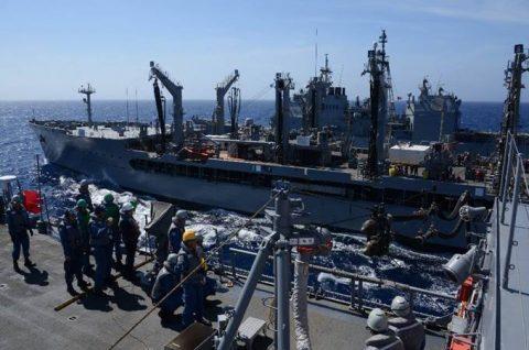 マラバール2016  防衛省海上自衛隊 日米印共同演習の記録2No1