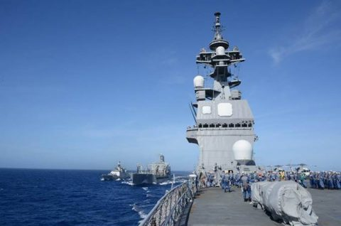 マラバール2016  防衛省海上自衛隊 日米印共同演習の記録2No2