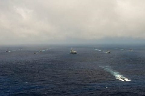 マラバール2016  防衛省海上自衛隊 日米印共同演習の記録2No3