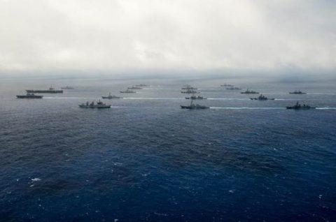 マラバール2016  防衛省海上自衛隊 日米印共同演習の記録2No4