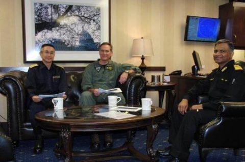マラバール2016  防衛省海上自衛隊 日米印共同演習の記録2No5