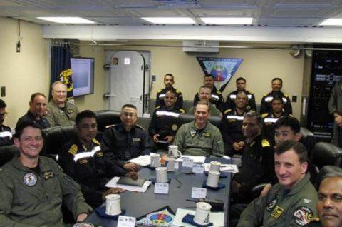 マラバール2016  防衛省海上自衛隊 日米印共同演習の記録2No6