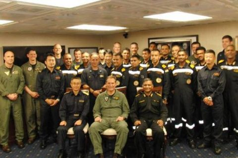 マラバール2016  防衛省海上自衛隊 日米印共同演習の記録2No7