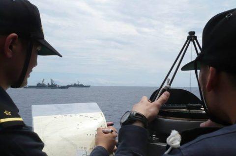2016年度 海上自衛隊 幹部候補生 遠洋航海(練習艦隊)7訓練No01