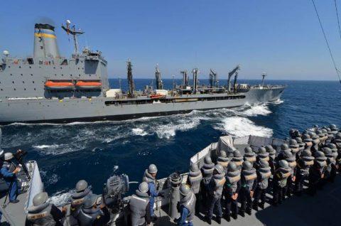 2016年度 海上自衛隊 幹部候補生 遠洋航海(練習艦隊)7訓練No02