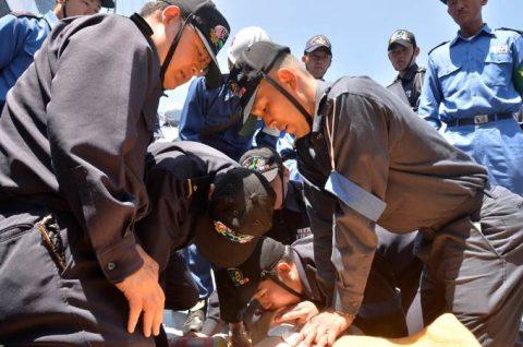2016年度 海上自衛隊 幹部候補生 遠洋航海(練習艦隊)7訓練No04