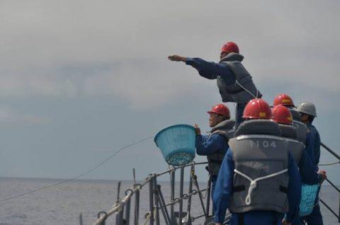 2016年度 海上自衛隊 幹部候補生 遠洋航海(練習艦隊)7訓練No05
