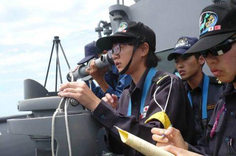 2016年度 海上自衛隊 幹部候補生 遠洋航海(練習艦隊)7訓練No06