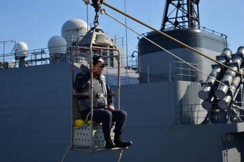 2016年度 海上自衛隊 幹部候補生 遠洋航海(練習艦隊)7訓練No08