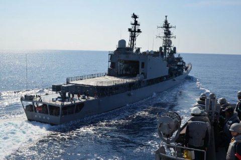 2016年度 海上自衛隊 幹部候補生 遠洋航海(練習艦隊)7訓練No10