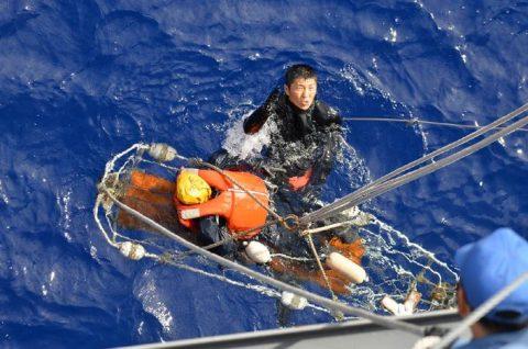 海自 一般幹部候補生 28年度 遠洋練習航海 部隊の記録2no1