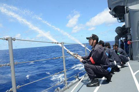海自 一般幹部候補生 28年度 遠洋練習航海 部隊の記録2no2