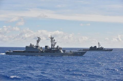 海自 一般幹部候補生 28年度 遠洋練習航海 部隊の記録2no3