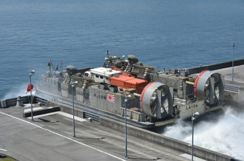 海上自衛隊呉地方総監部と関西電力、中国電力、四国電力、合同訓練no1