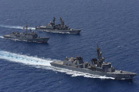 海上自衛隊 ジプチ ソマリア 海賊対処 24次水上部隊の記録13no2