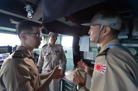 海上自衛隊 ジプチ ソマリア 海賊対処 24次水上部隊の記録13no3