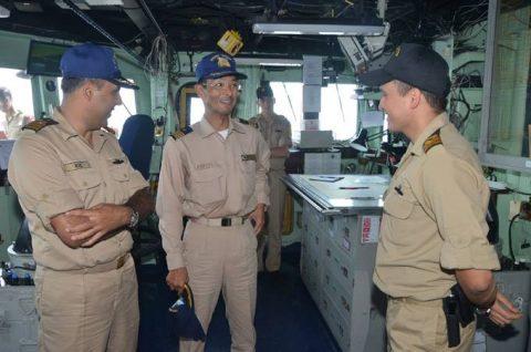 海上自衛隊 ジプチ ソマリア 海賊対処 24次水上部隊の記録13no6