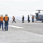 海上自衛隊 インド海軍との親善訓練 護衛艦「ひゅうが」写真