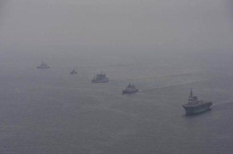 海上自衛隊 インド海軍との親善訓練 護衛艦「ひゅうが」写真no4