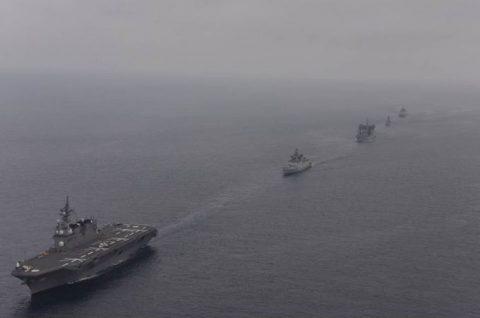 海上自衛隊 インド海軍との親善訓練 護衛艦「ひゅうが」写真no5