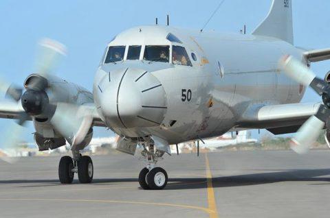 第23次海賊対処派遣行動航空隊 警戒監視飛行12000時間No1