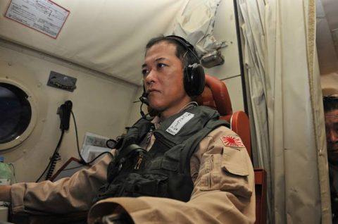 第23次海賊対処派遣行動航空隊 警戒監視飛行12000時間No3