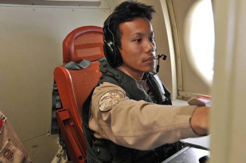 第23次海賊対処派遣行動航空隊 警戒監視飛行12000時間No4