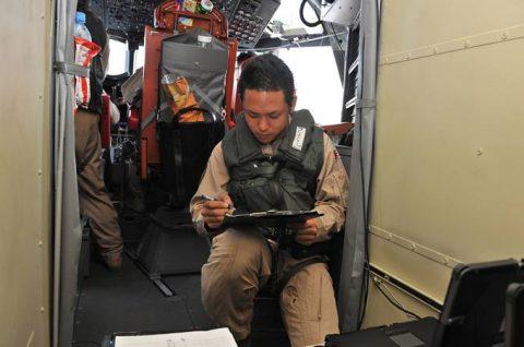 第23次海賊対処派遣行動航空隊 警戒監視飛行12000時間No5