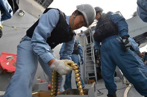 海自 24次ジプチ・ソマリア海賊対処活動 水上部隊レポート17No3