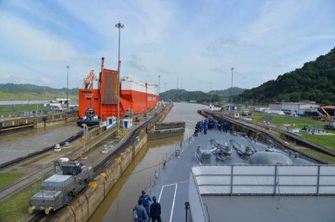 2016年度 海上自衛隊幹部候補生 遠洋航海かしま・せとゆき9No01