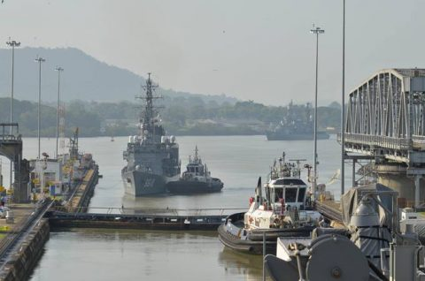 2016年度 海上自衛隊幹部候補生 遠洋航海かしま・せとゆき9No02