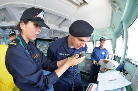 2016年度 海上自衛隊幹部候補生 遠洋航海かしま・せとゆき9No03