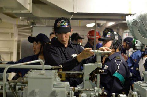 2016年度 海上自衛隊幹部候補生 遠洋航海かしま・せとゆき9No08
