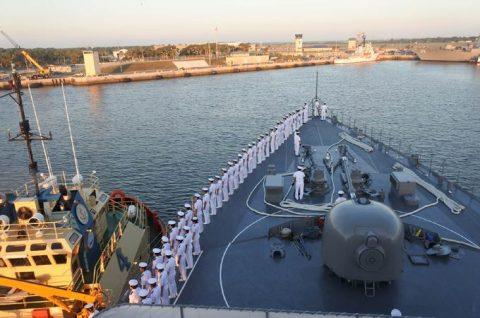 2016年度 海上自衛隊幹部候補生 遠洋航海かしま・せとゆき9No10