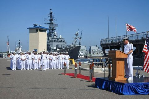 2016年度 海上自衛隊幹部候補生 遠洋航海かしま・せとゆき9No11