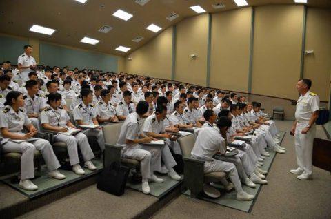 平成28年度 海上自衛隊幹部候補生 遠洋航海かしま・せとゆき10No1