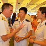 平成28年度 海上自衛隊幹部候補生 遠洋航海かしま・せとゆき10