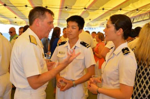 平成28年度 海上自衛隊幹部候補生 遠洋航海かしま・せとゆき10No3
