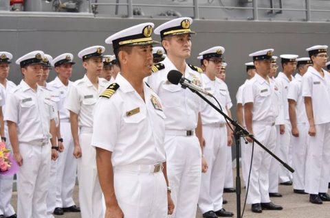 派遣海賊対処行動水上部隊(25次隊)出港行事・護衛艦「いなづま」No06