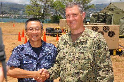海上自衛隊 リムパック RIMPAC2016 人道支援・災害救援No1