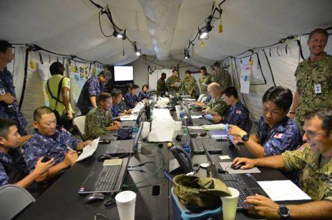 海上自衛隊 リムパック RIMPAC2016 人道支援・災害救援No2