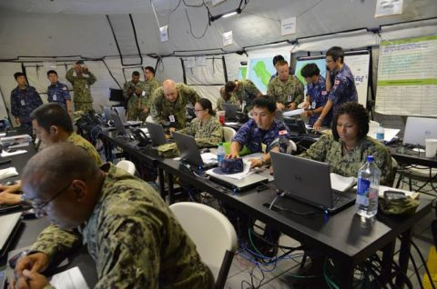 海上自衛隊 リムパック RIMPAC2016 人道支援・災害救援No3