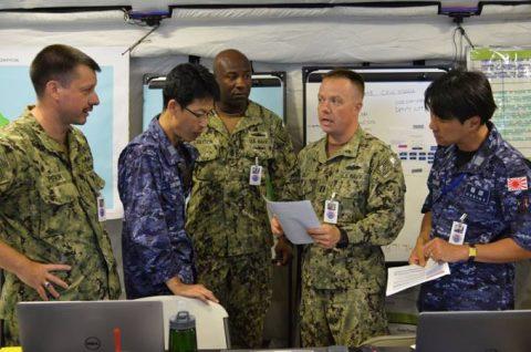 海上自衛隊 リムパック RIMPAC2016 人道支援・災害救援No4