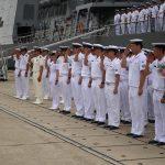 25次派遣海賊対処行動水上部隊2 護衛艦「すずつき」出港行事