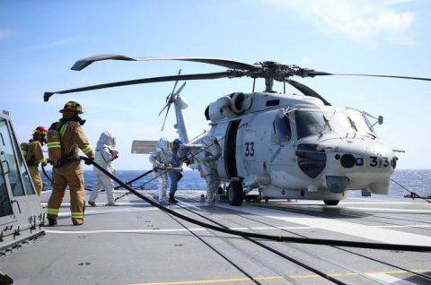 25次派遣海賊対処行動水上部隊2 護衛艦「すずつき」出港行事No6