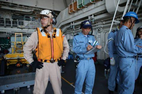 25次派遣海賊対処行動水上部隊2 護衛艦「すずつき」出港行事No7