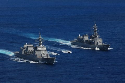 派遣海賊対処行動水上部隊(25次隊)訓練の様子レポート3No1